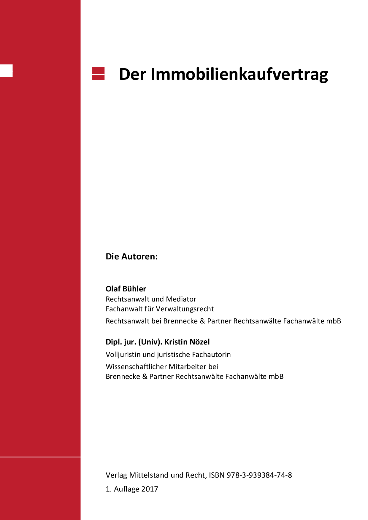 immobilienkaufvertrag